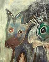 silvia-messerli-Fantasie-Humor-Moderne-Abstrakte-Kunst-Art-Brut