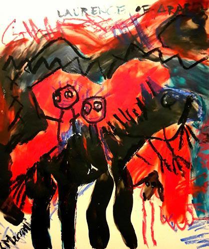 silvia messerli, Laurence of Arabia, Diverse Romantik, Diverses, Art Brut, Abstrakter Expressionismus