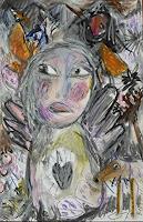 silvia-messerli-Menschen-Frau-Gefuehle-Freude-Moderne-Abstrakte-Kunst-Art-Brut