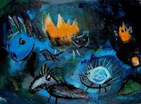 silvia-messerli-Gefuehle-Geborgenheit-Tiere-Moderne-Expressionismus-Abstrakter-Expressionismus