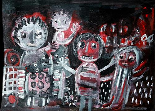 silvia messerli, in canobbio italia, Menschen: Gruppe, Markt, Art Brut