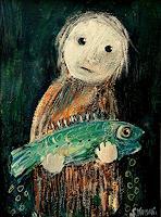 silvia-messerli-Tiere-Wasser-Menschen-Kinder-Gegenwartskunst-Gegenwartskunst
