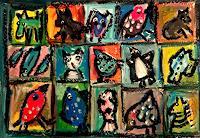 silvia-messerli-Gefuehle-Freude-Humor-Moderne-Abstrakte-Kunst-Art-Brut