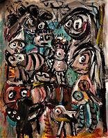 silvia-messerli-Gefuehle-Depression-Fantasie-Moderne-Abstrakte-Kunst-Art-Brut