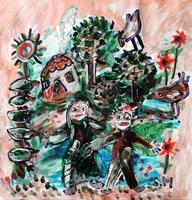 silvia-messerli-Fantasie-Maerchen-Moderne-Abstrakte-Kunst-Art-Brut