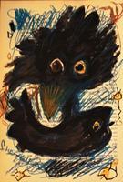 silvia-messerli-Diverse-Tiere-Natur-Diverse-Moderne-Abstrakte-Kunst-Art-Brut