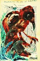 silvia-messerli-Tiere-Luft-Natur-Luft-Moderne-Abstrakte-Kunst-Art-Brut