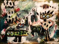silvia-messerli-Gefuehle-Freude-Fantasie-Moderne-Abstrakte-Kunst-Art-Brut