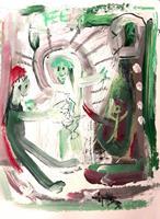 silvia-messerli-Diverse-Gefuehle-Diverses-Moderne-Abstrakte-Kunst-Art-Brut