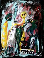 silvia-messerli-Diverse-Gefuehle-Freizeit-Moderne-Abstrakte-Kunst-Art-Brut