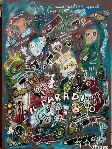 silvia messerli, il paradiso, Diverse Gefühle, Fantasie, Gegenwartskunst