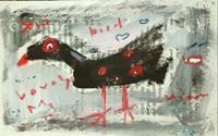 silvia-messerli-Tiere-Luft-Gefuehle-Freude-Moderne-Abstrakte-Kunst-Art-Brut