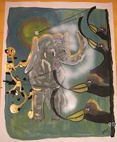 jamart-Tiere-Land-Abstraktes-Gegenwartskunst--Gegenwartskunst-