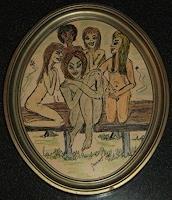 jamart-Diverse-Erotik-Menschen-Frau-Gegenwartskunst--Gegenwartskunst-