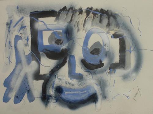 jamart, portrait moi même, Menschen: Porträt, Art Brut