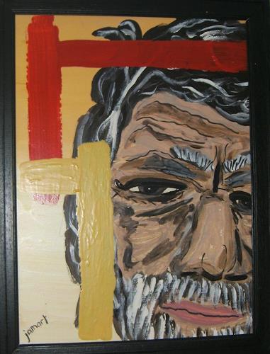 jamart, the old man, Menschen: Porträt, Gegenwartskunst