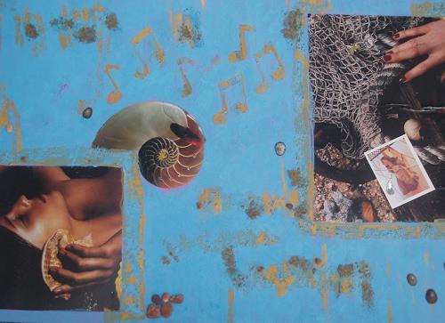 bia, LA CANZONE DEL MARE, Dekoratives, Natur: Wasser, Pop-Art
