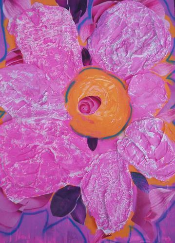 bia, PINK DAISY, Dekoratives, Pflanzen: Blumen, Pop-Art