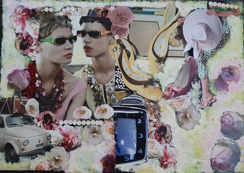 bia, SIXTY'S, Dekoratives, Fashion, Pop-Art