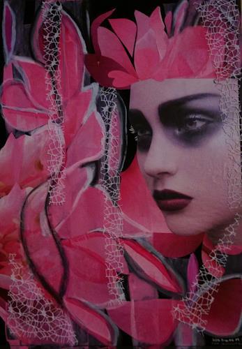 bia, FEE CAMELIA, Dekoratives, Pflanzen: Blumen, Pop-Art