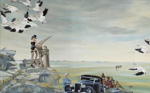 dominique hoffer, EN SOUVENIR DE MELUSINE, Fantasie, Gegenwartskunst