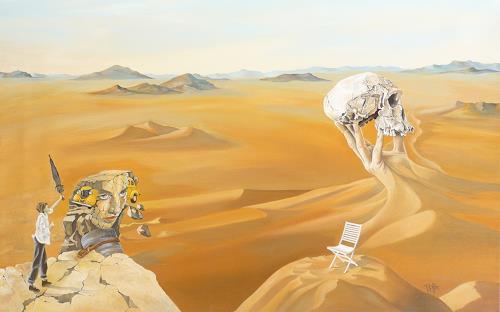 dominique hoffer, Facétieux vertiges de l'éternité, Fantasie, Gegenwartskunst, Abstrakter Expressionismus