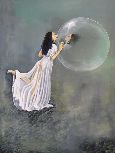 dominique hoffer, Sous les ailes froissées des papillons, Fantasie, Gegenwartskunst