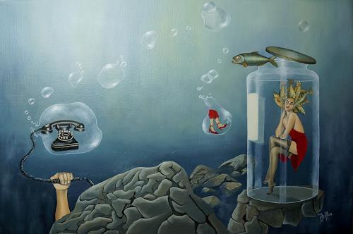 dominique hoffer, Appel en Absence, Fantasie, Surrealismus