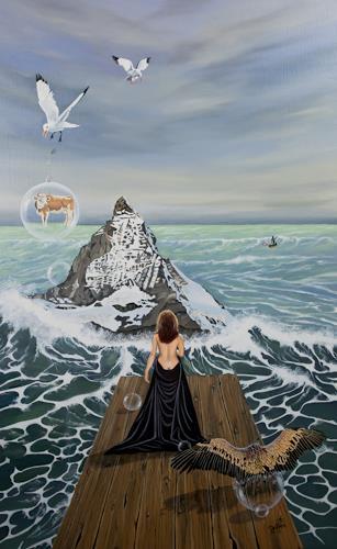 dominique hoffer, Alchimie d'une Conquête, Fantasie, Postsurrealismus, Expressionismus