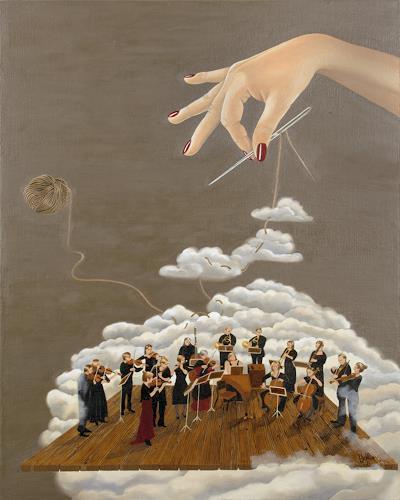 dominique hoffer, Cantabile, Fantasie, Postsurrealismus, Abstrakter Expressionismus