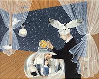 dominique-hoffer-Menschen-Familie-Fantasie-Gegenwartskunst-Postsurrealismus
