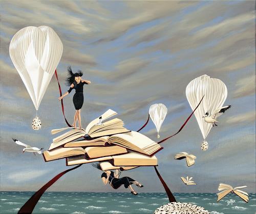 dominique hoffer, L'Odyssée, Fantasie, Postsurrealismus, Abstrakter Expressionismus