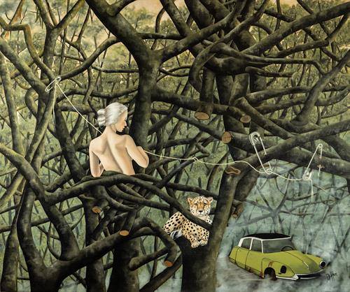 dominique hoffer, Quand les Pièges ne se refermeront plus, Fantasie, Postsurrealismus