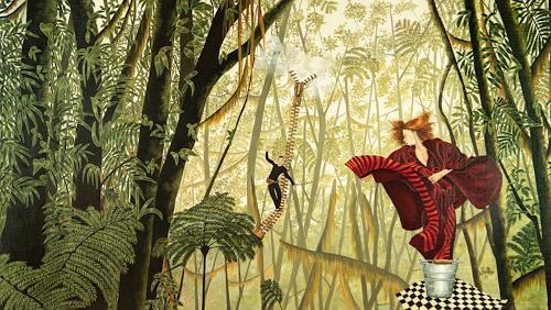 dominique hoffer, L'Epine Dorsale des Légendes Infimes, Fantasie, Postsurrealismus