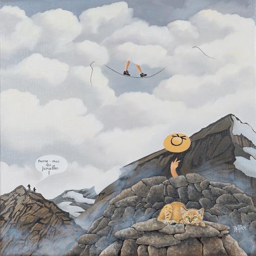 dominique hoffer, Les indociles, Fantasie, Postsurrealismus, Abstrakter Expressionismus