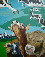 R. Hurst, Outlier Cows / Überfliegerkühe
