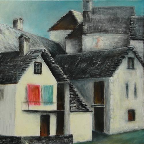 Romy Latscha, Zeitreise, Architektur, Wohnen, Gegenwartskunst, Abstrakter Expressionismus