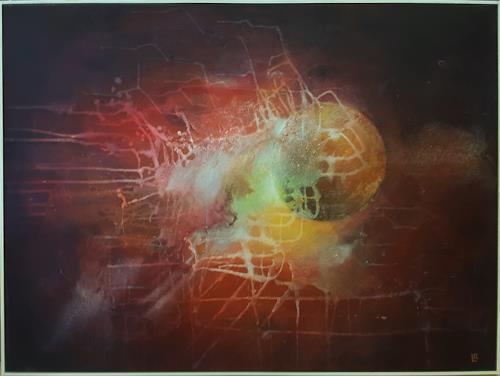 romy latscha, Energie, Natur, Weltraum, Gegenwartskunst, Abstrakter Expressionismus