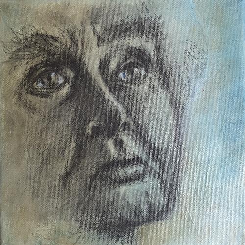 romy latscha, Gesichter, Menschen: Gesichter, Menschen: Frau, Gegenwartskunst