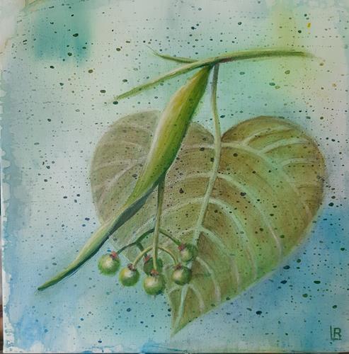 romy latscha, Mobilität Lindenblüte, Pflanzen: Früchte, Natur, Abstrakte Kunst