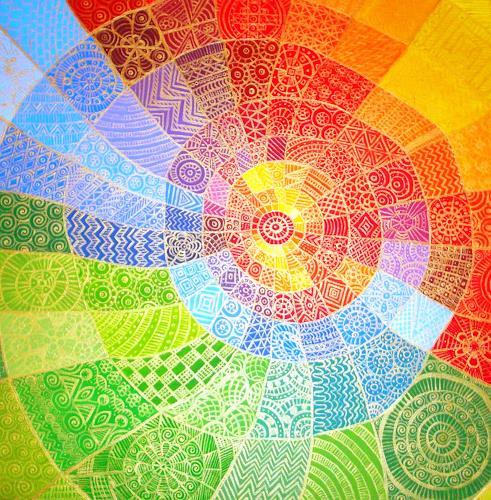 Maruska, Universo a colori, Abstraktes, Abstrakte Kunst, Expressionismus
