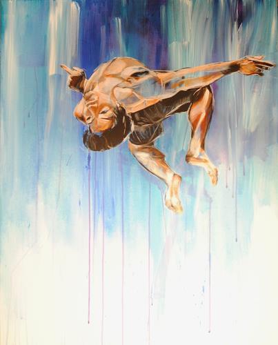 webo, Salto, Sport, Freizeit, Abstrakter Expressionismus