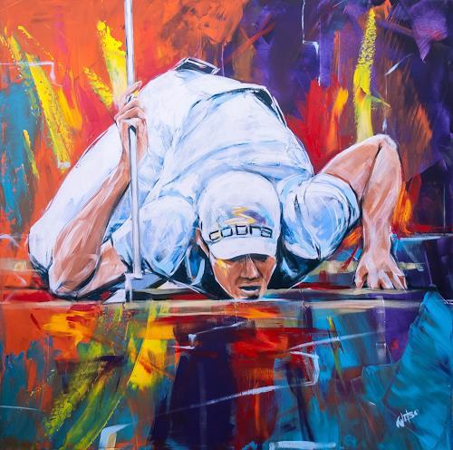 webo, Puttlinie, Sport, Sport, Abstrakter Expressionismus