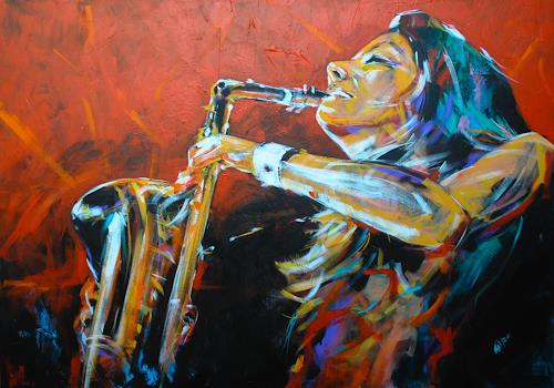 webo, Candy Dulfer, Musik: Instrument, Diverse Musik, Expressionismus