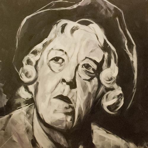 webo, Miss Marple, Menschen: Gesichter, Menschen: Porträt