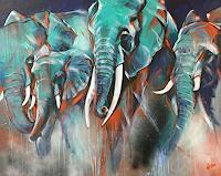 webo, Elefantenherde