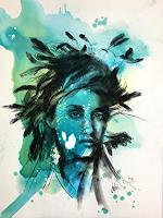 webo-Menschen-Moderne-Abstrakte-Kunst
