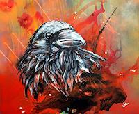 webo-Tiere-Luft-Tiere-Moderne-Abstrakte-Kunst