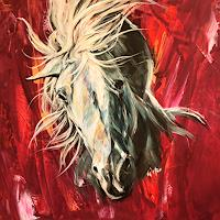 webo-Tiere-Tiere-Land-Moderne-Abstrakte-Kunst