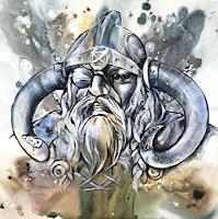 webo-Mythologie-Dekoratives-Moderne-Abstrakte-Kunst